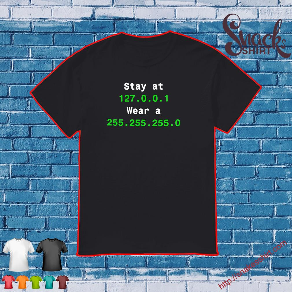 Stay at 127.0.0.1 wear 255.255.255.0 shirt