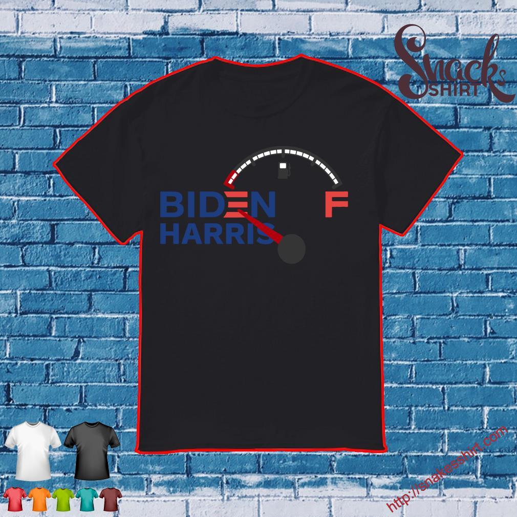Biden Harris gas gauge shirt