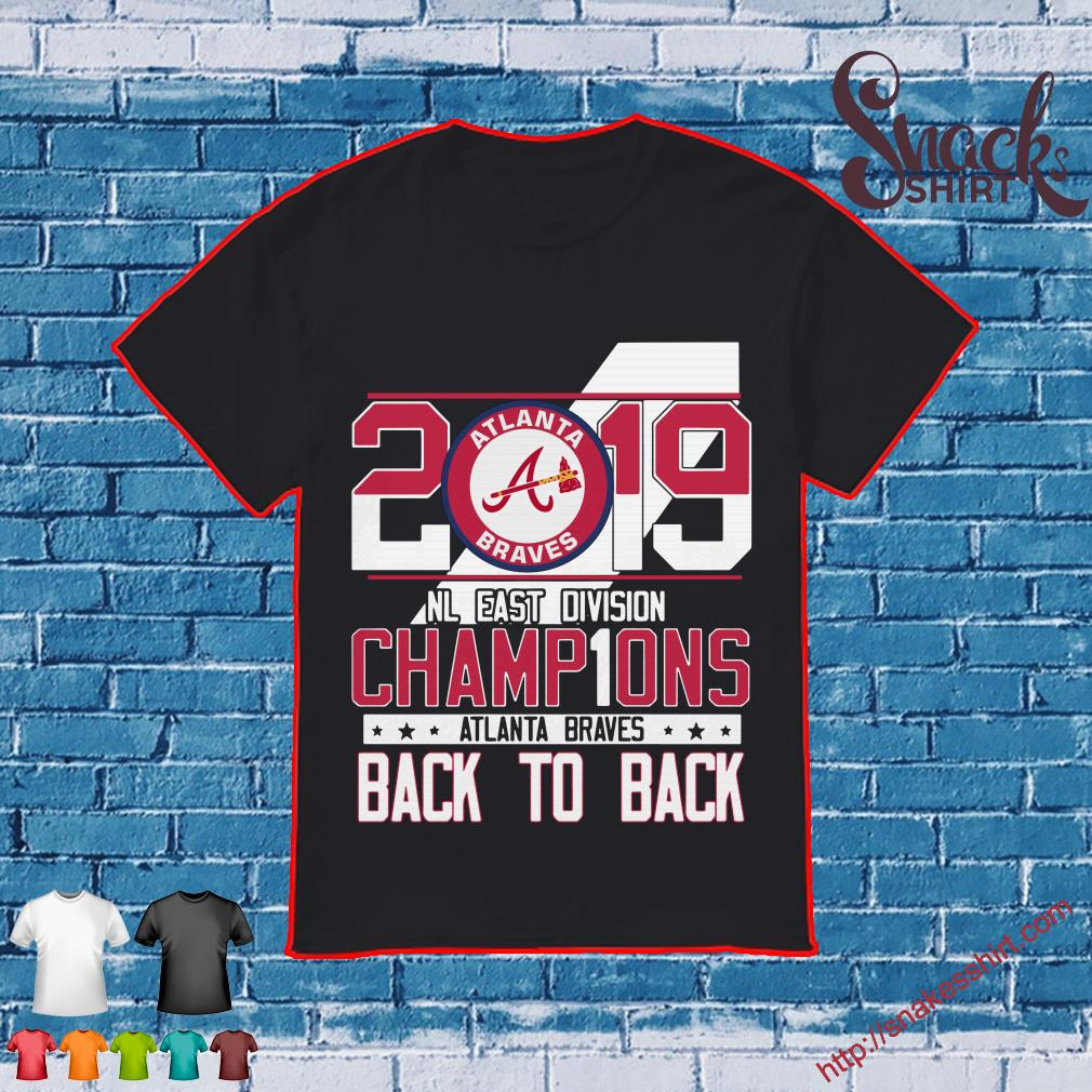 differently 2b52c 2d76d 2019 Atlanta Braves Nl East Division Champions Back To Back ...