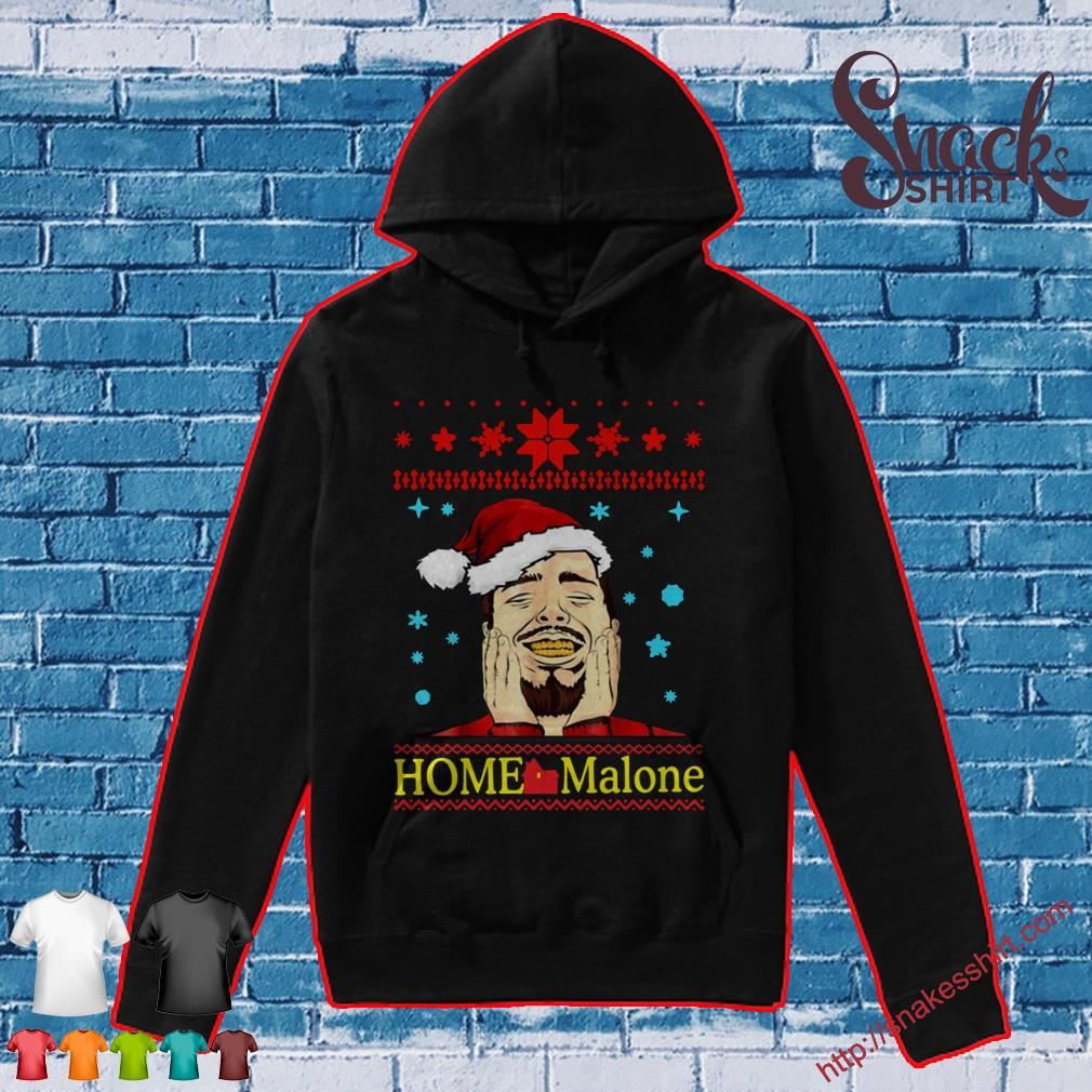 Post Malone Home Malone Christmas 2019 Shirt, Hoodie, Tank Top