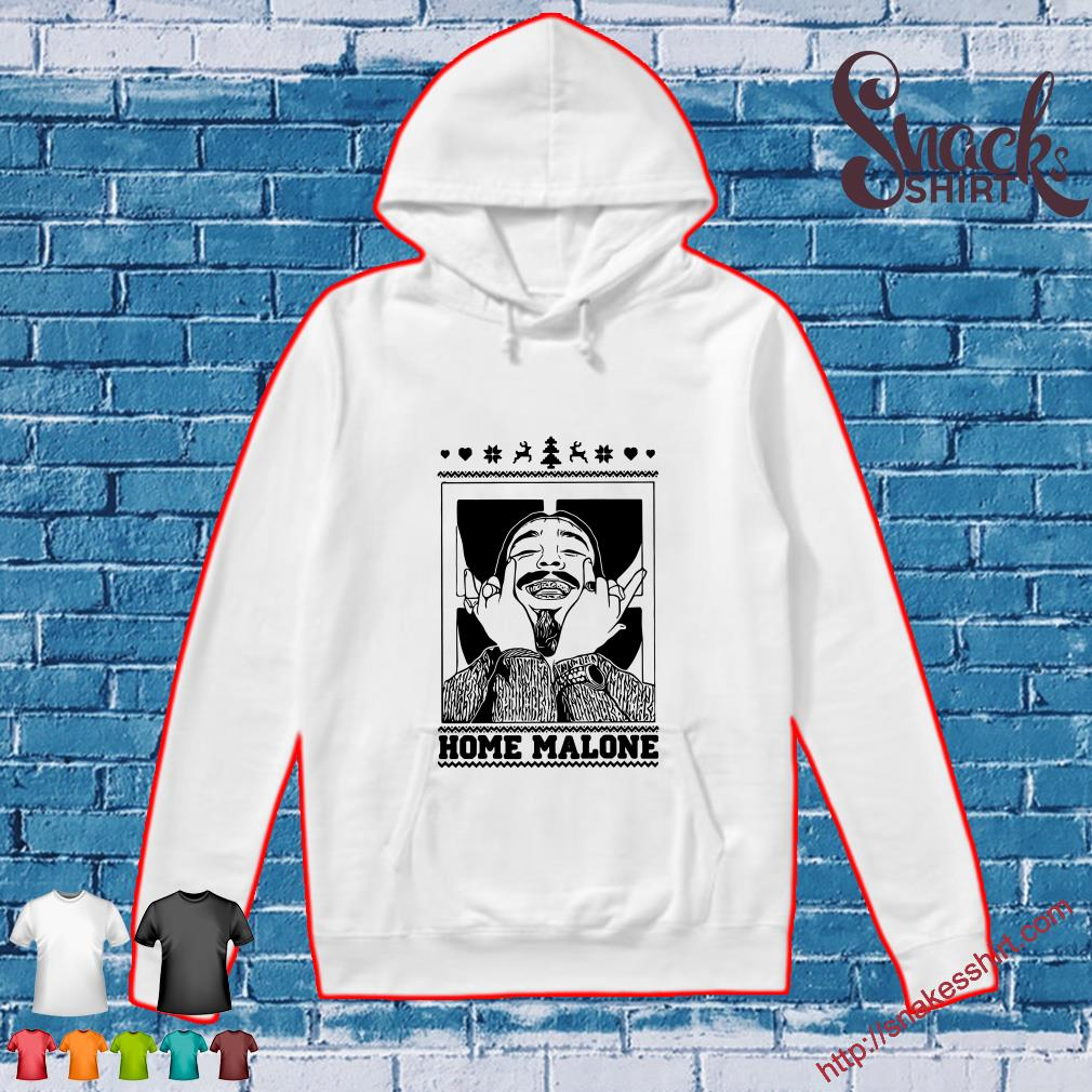 Christmas Post Malone Home Malone Shirt, Hoodie, Tank Top