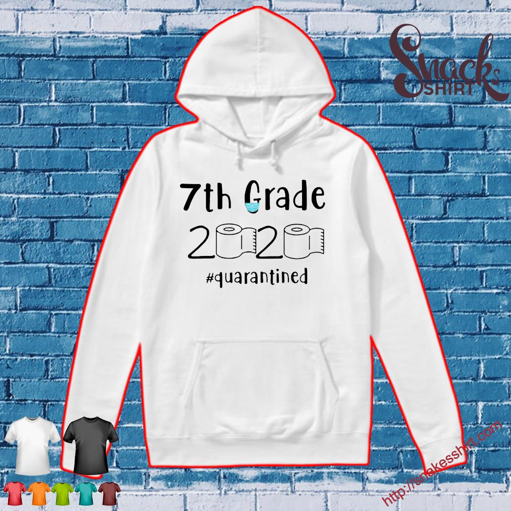 07 Grade 2020 #quarantined s Hoodie