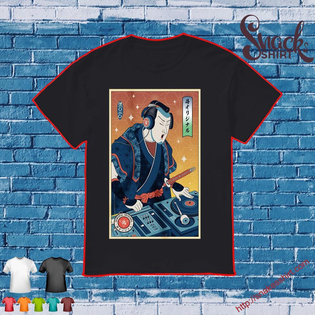 2020 DJ Samurai shirt