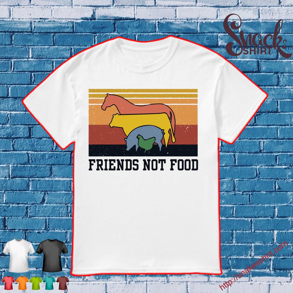 Animal Friends not foot vintage shirt