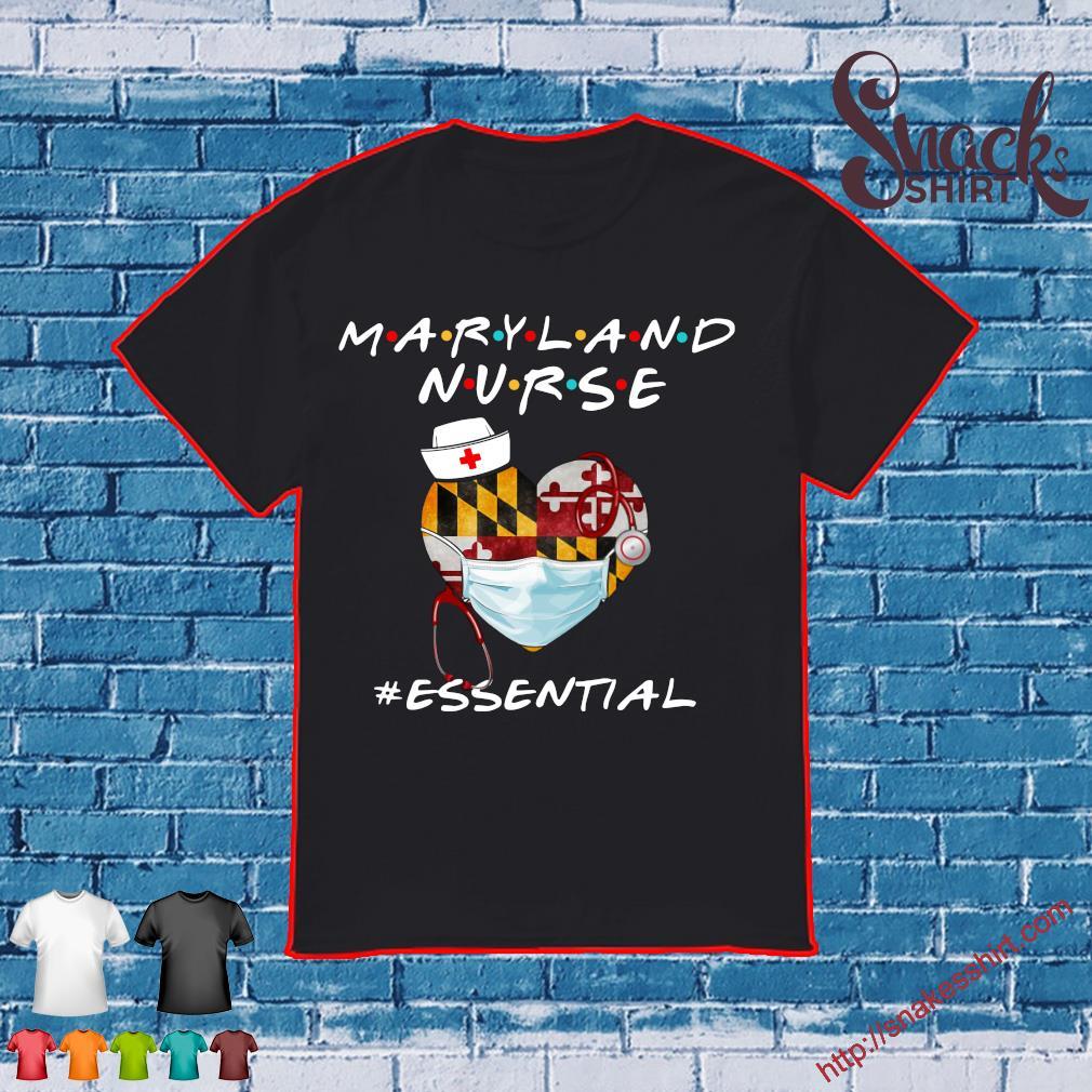 Maryland Nurse #esential shirt
