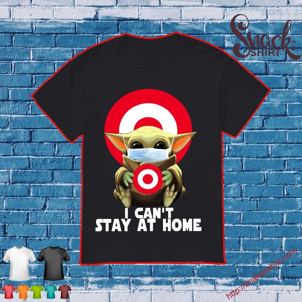 Target Circle Baby Yoda I can't stay at home shirt