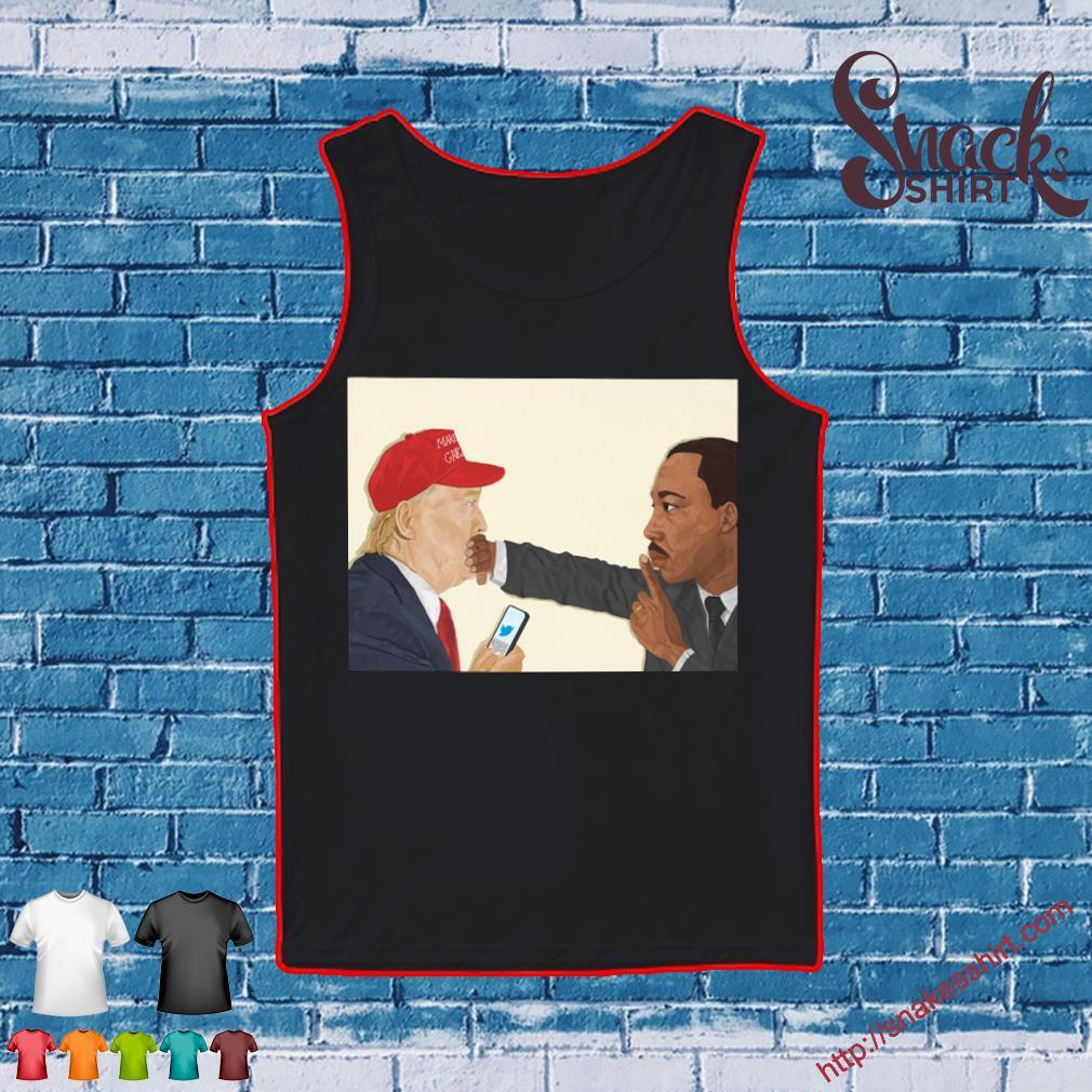 Donald Trump and Martin Luther King III Shirt Tank top