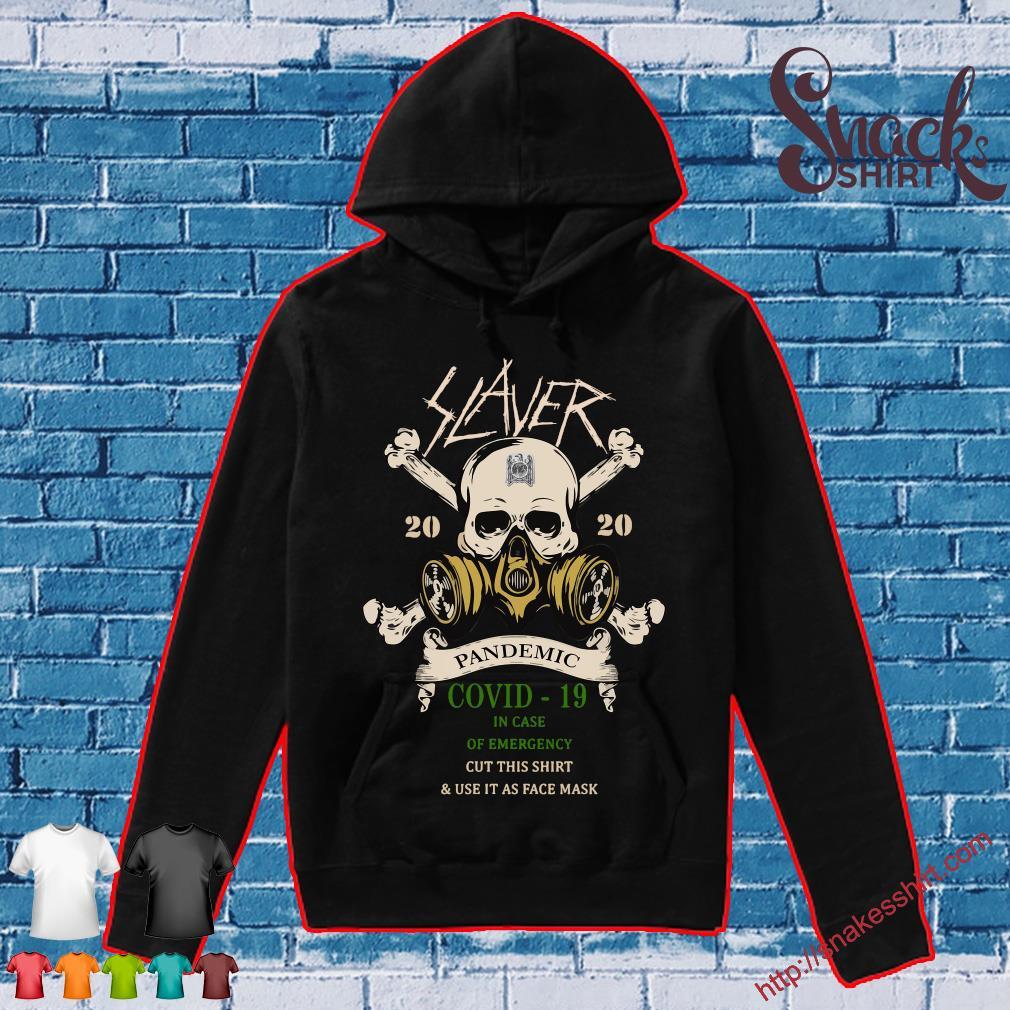 Slayer Skull 2020 pandemic covid-19 s Hoodie