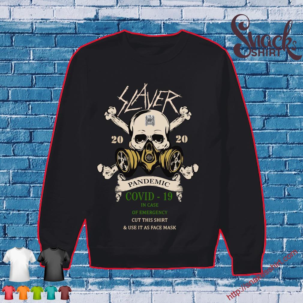 Slayer Skull 2020 pandemic covid-19 s Sweater