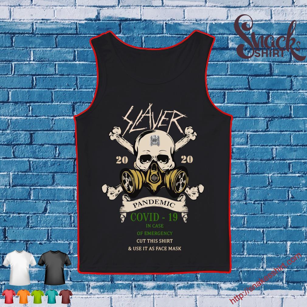 Slayer Skull 2020 pandemic covid-19 s Tank top
