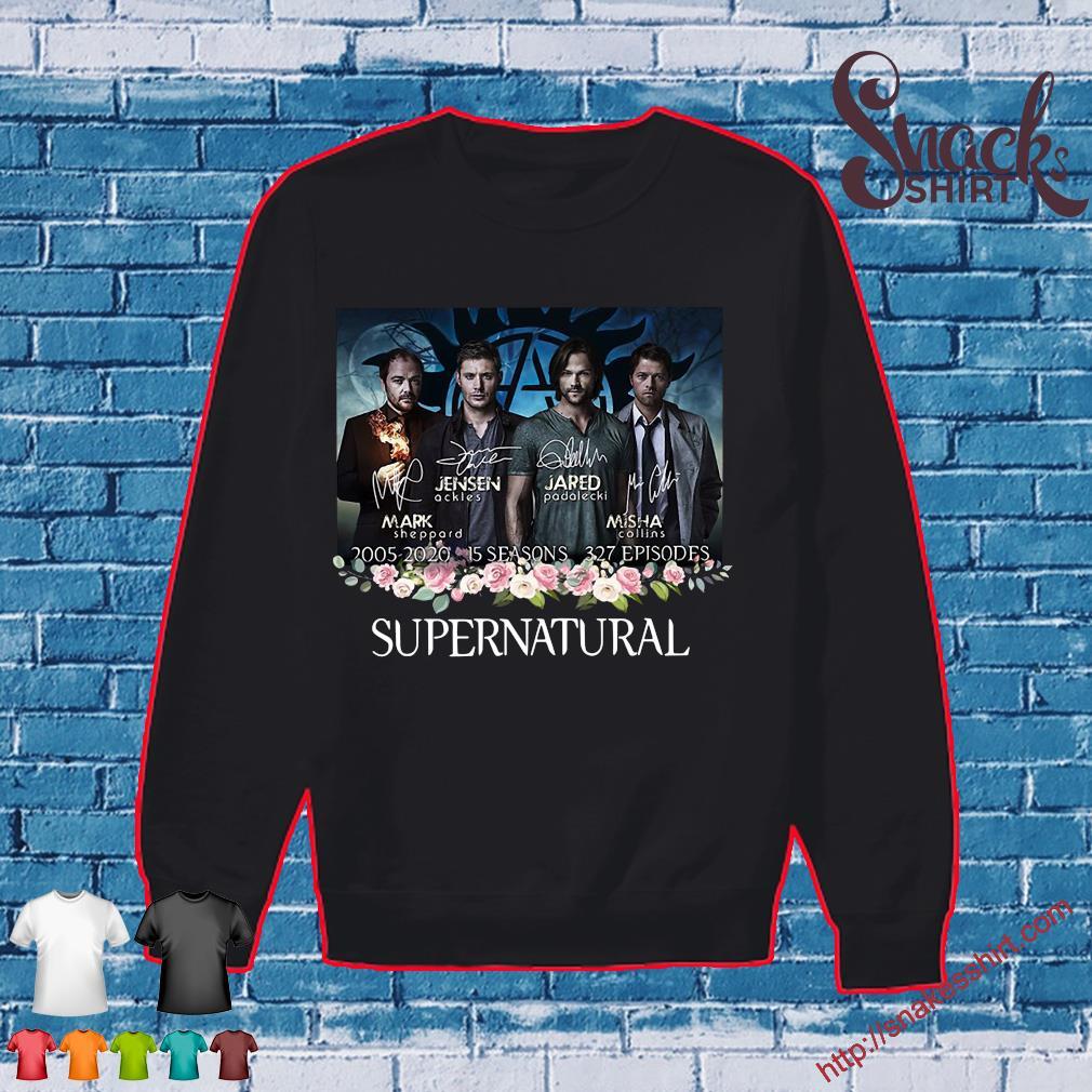 Supernatural 2005 2020 15 seasons 327 episodes signatures s Sweater
