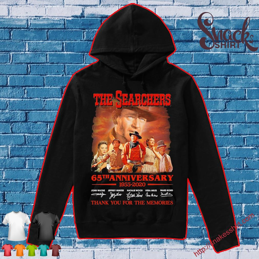 The searchers 65th anniversary 1955 2020 thank You for the memories signatures s Hoodie