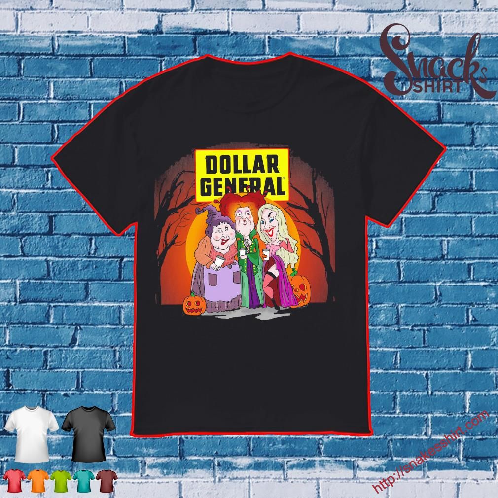 Hocus Pocus Sanderson Sisters Dollar General Halloween shirt