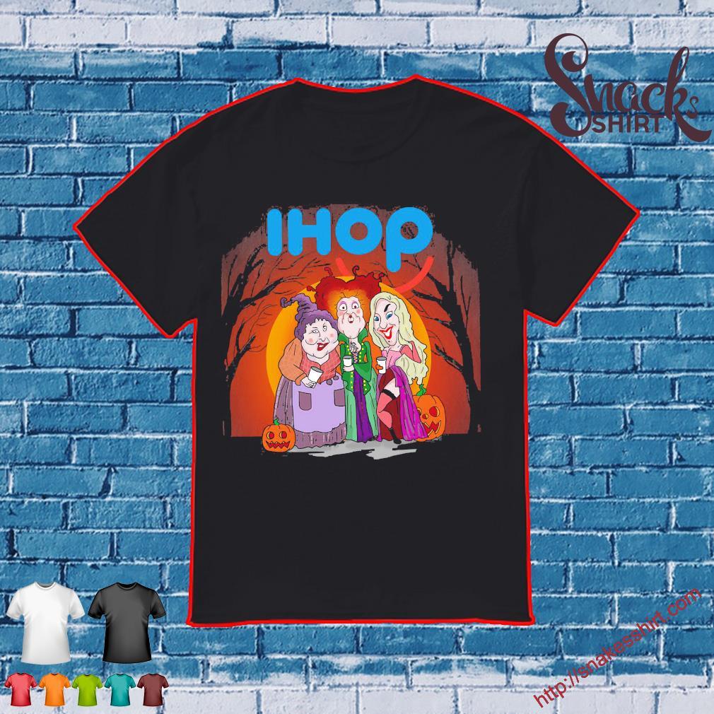 Hocus Pocus Sanderson Sisters Ihop Halloween shirt