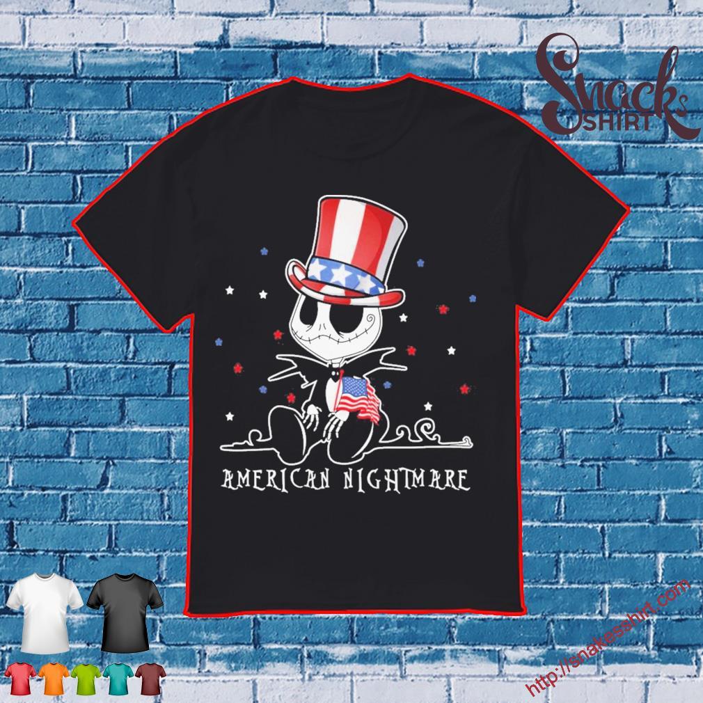 Jack Skeleton American nightmare shirt