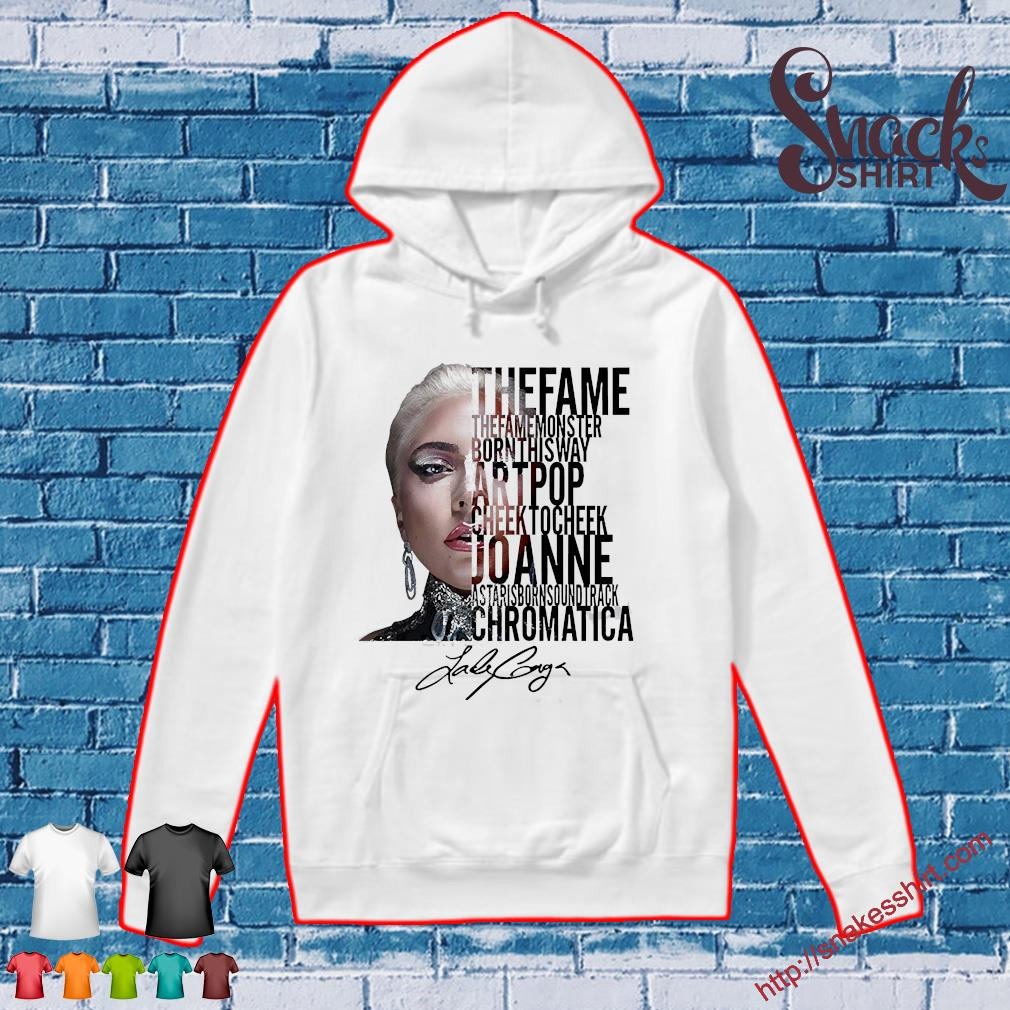 Lady gaga the fame monster born this way artpop cheek to Cheek Joanne s Hoodie