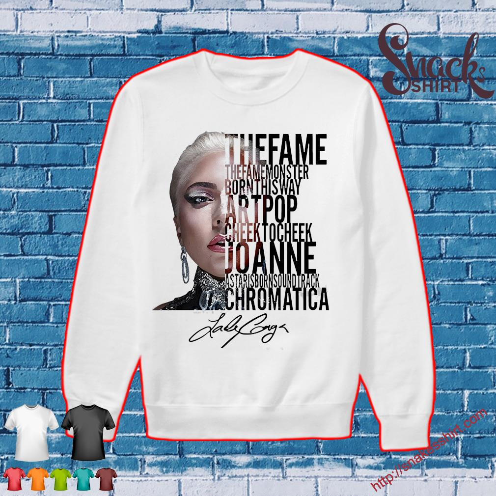 Lady gaga the fame monster born this way artpop cheek to Cheek Joanne s Sweater