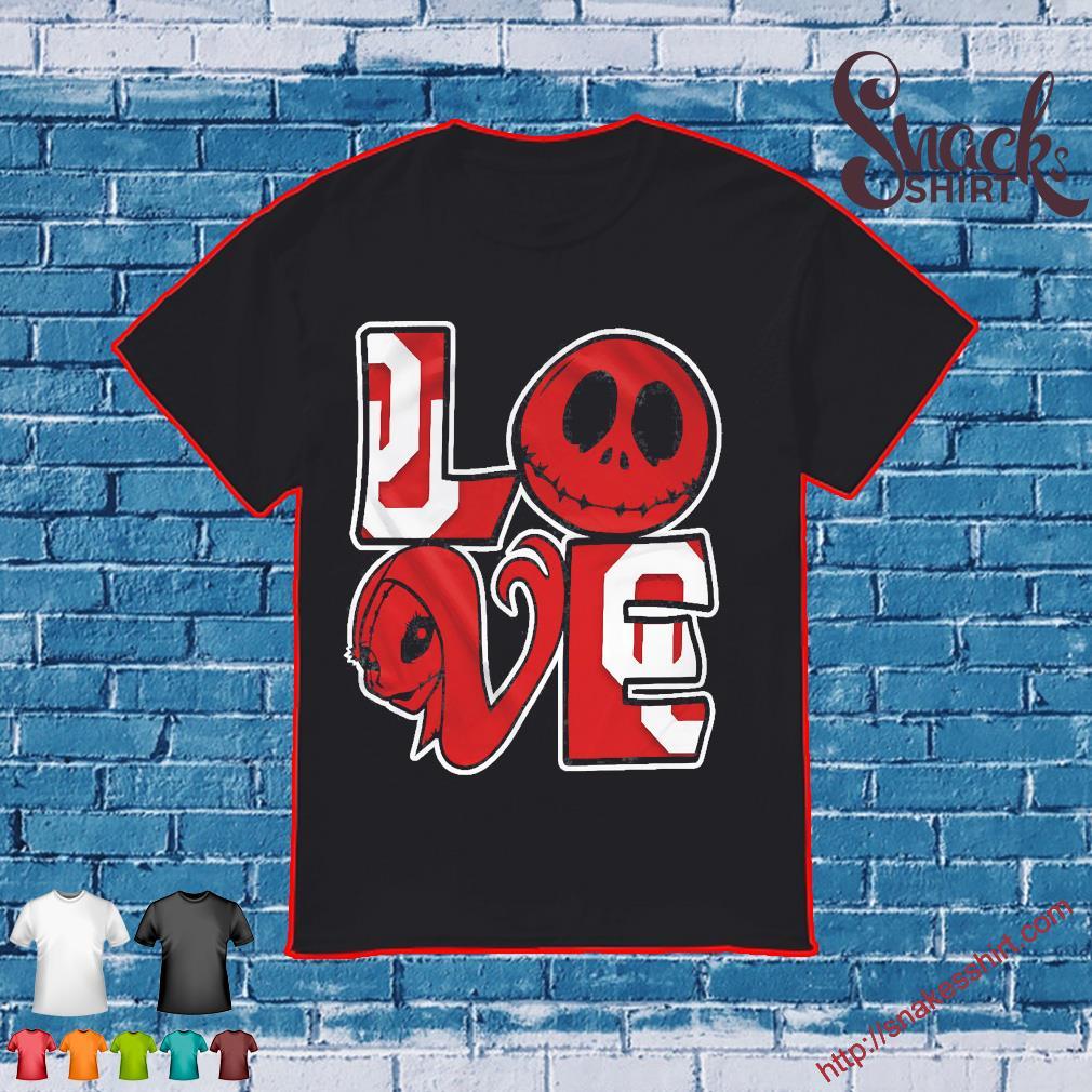 Oklahoma Jack Skellington and Sally love shirt