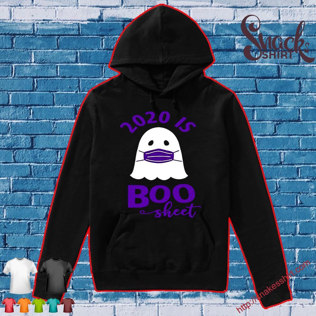 2020 is Boo Sheet Women's Halloween Shirt Hoodie