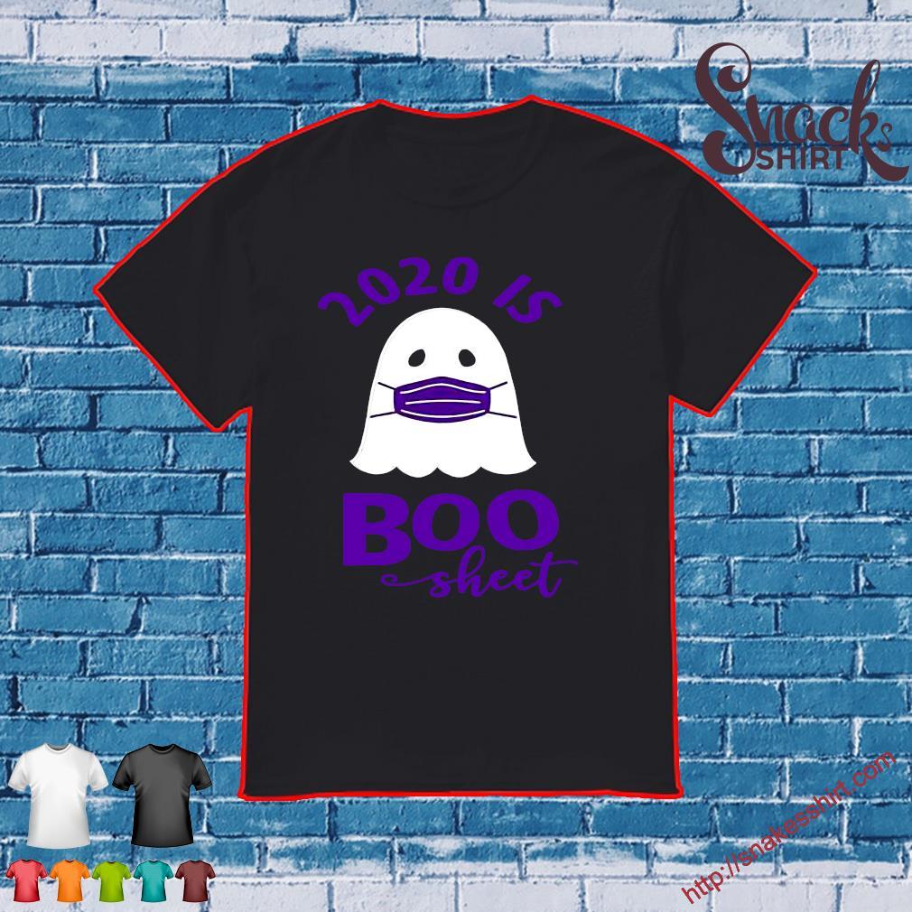 2020 is Boo Sheet Women's Halloween Shirt