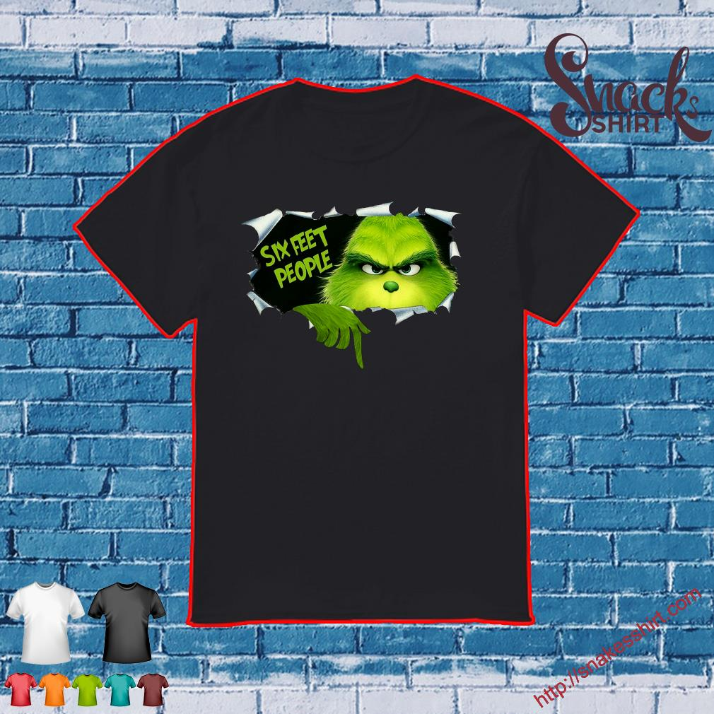 The Grinch Six Feet People Shirt