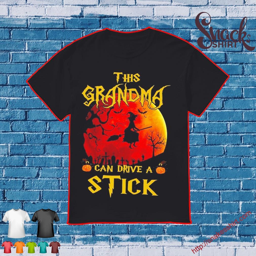 This Grandma can drive a Stick Halloween shirt