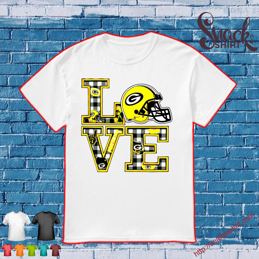 Love Green Bay Packers team shirt