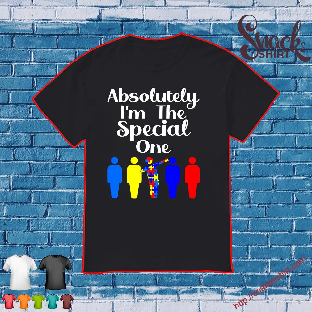Proud Autism Awareness I'm The Special One Long Sleeve T-Shirt