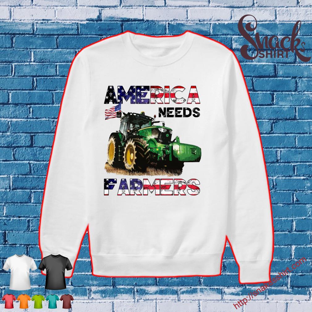 Tractor America needs farmers s Sweater