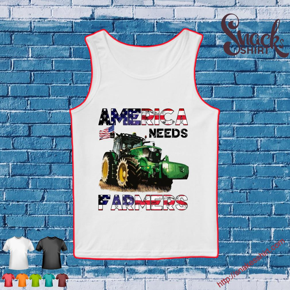 Tractor America needs farmers s Tank top