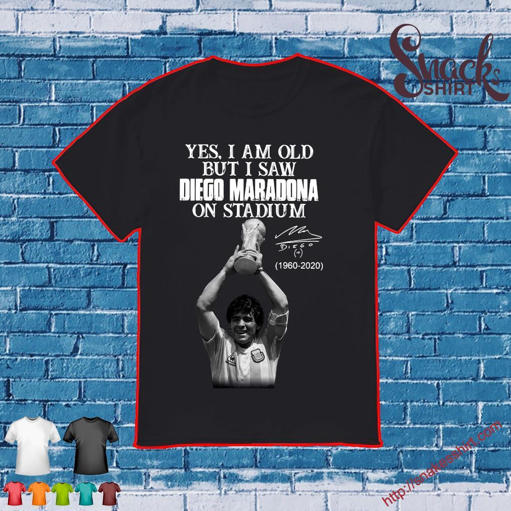 Yes I am old but I saw diego maradona on stadium 1960 - 2020 shirt