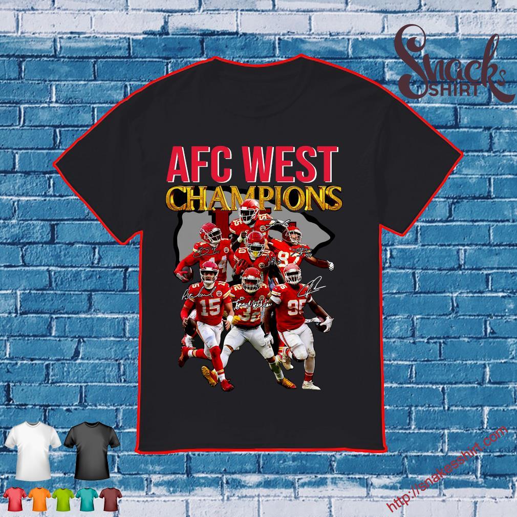 AFC WEST champions shirt