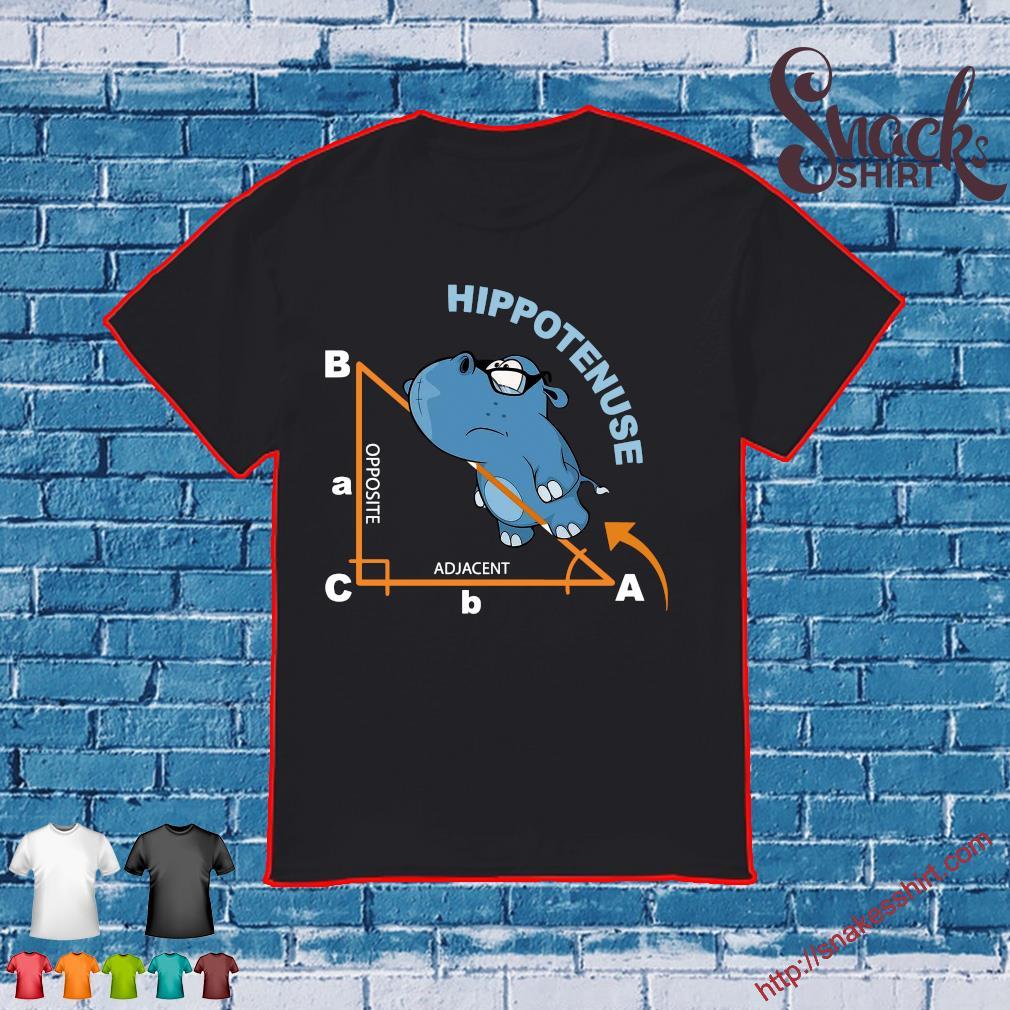 Hypotenuse opposite adjacent shirt