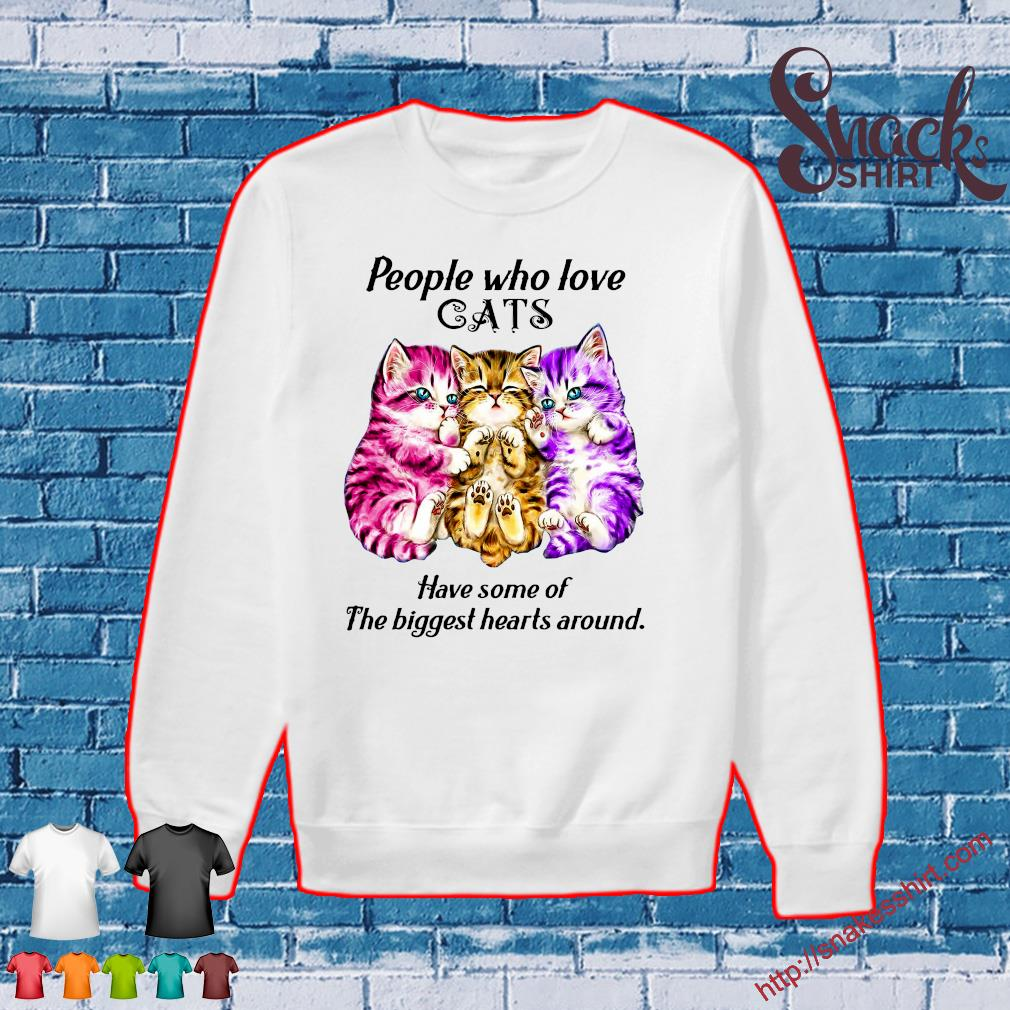People who love cats have some of the biggest hearts around s Sweater