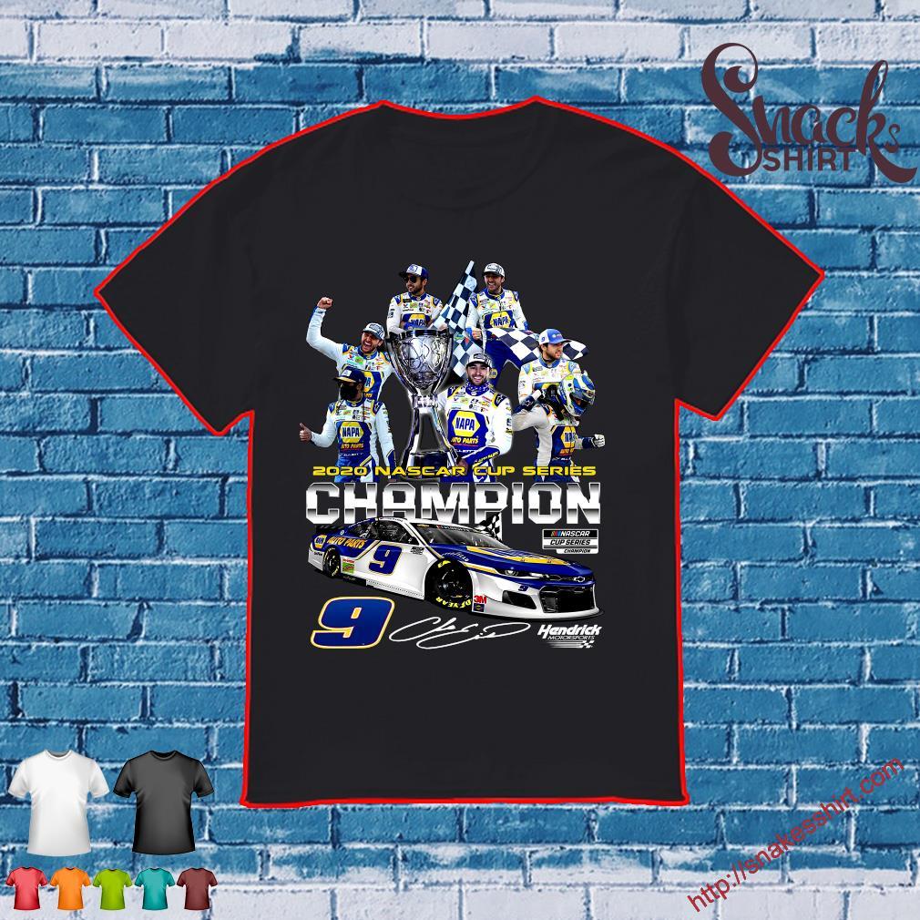 2020 Nascar Cup Series Champions 9 Hendrick Motorsports Signature Shirt