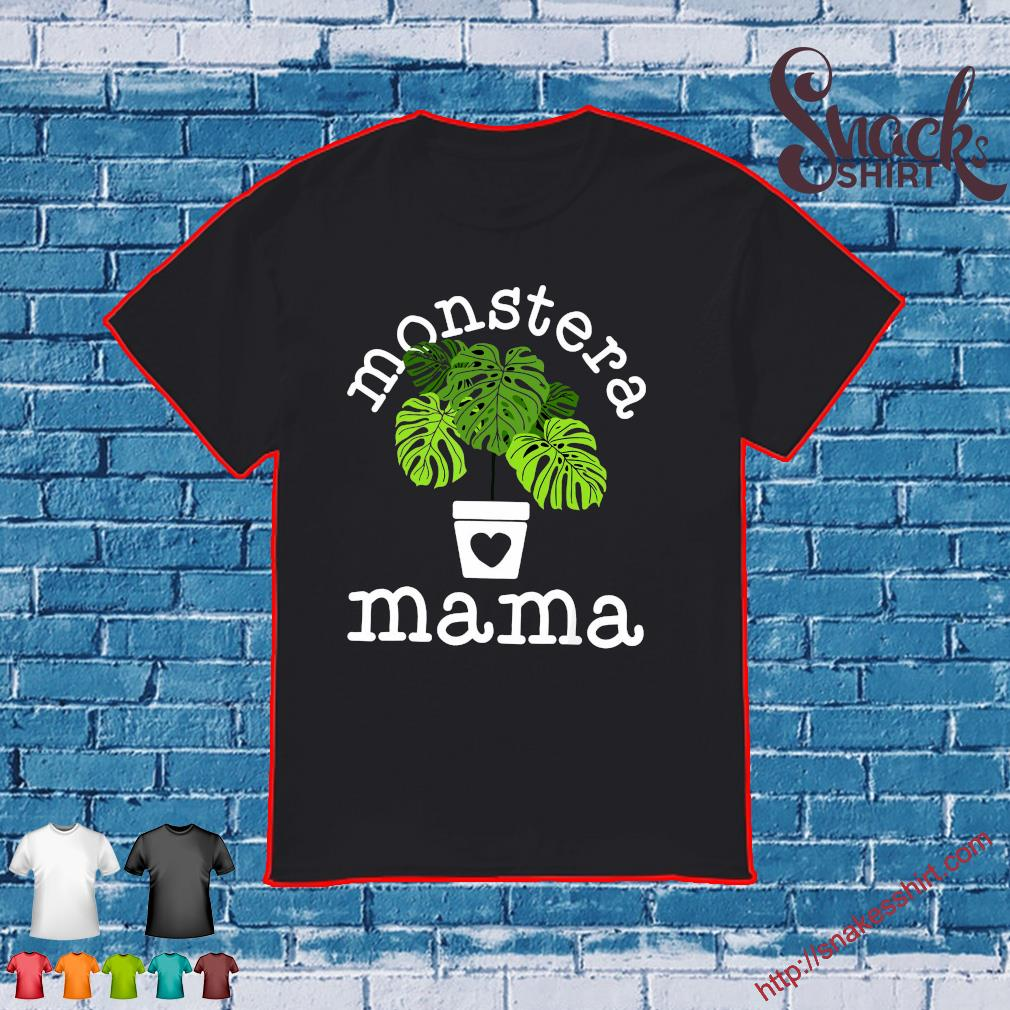 Monstera mama shirt