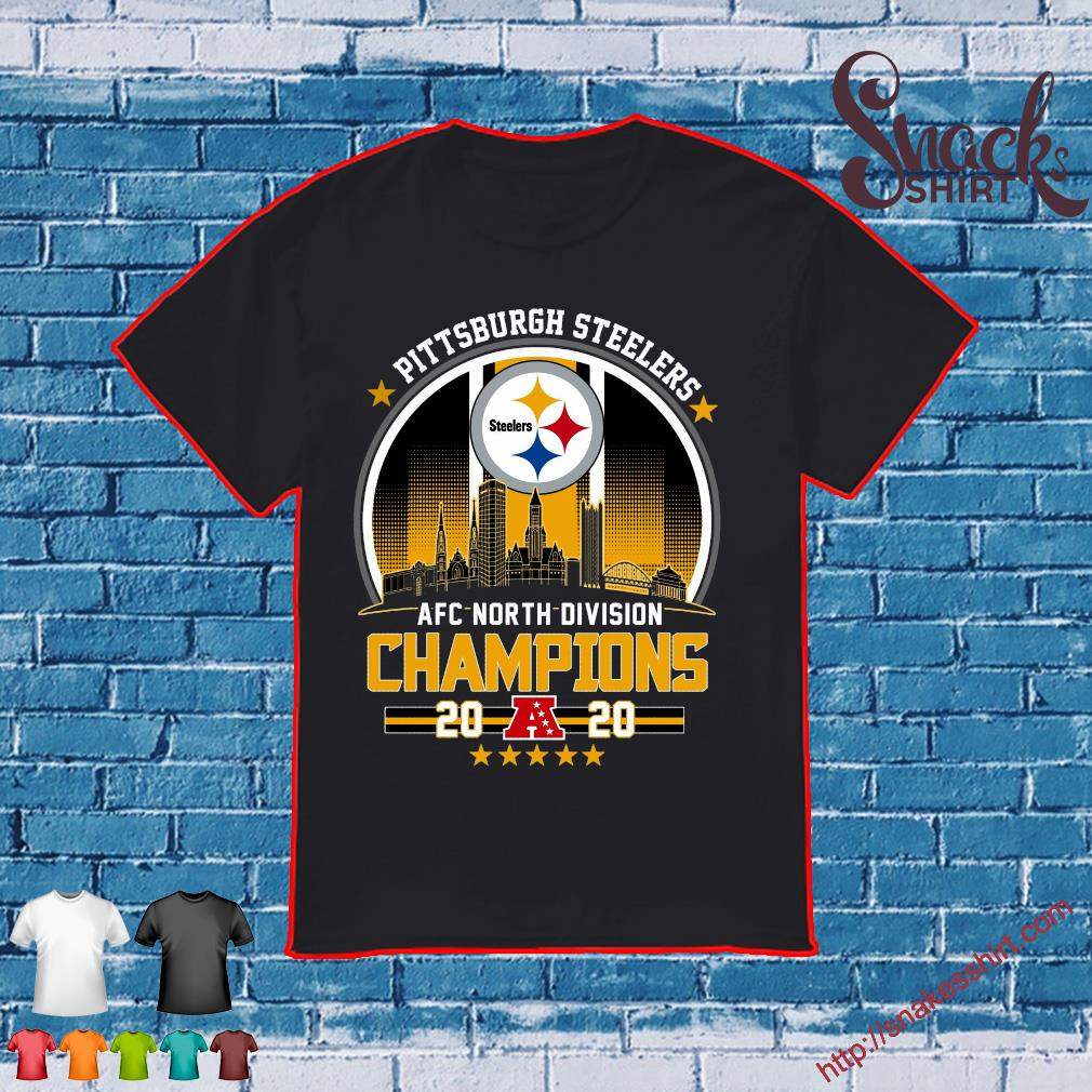 Pittsburgh steelers afc north divison champions 2020 shirt
