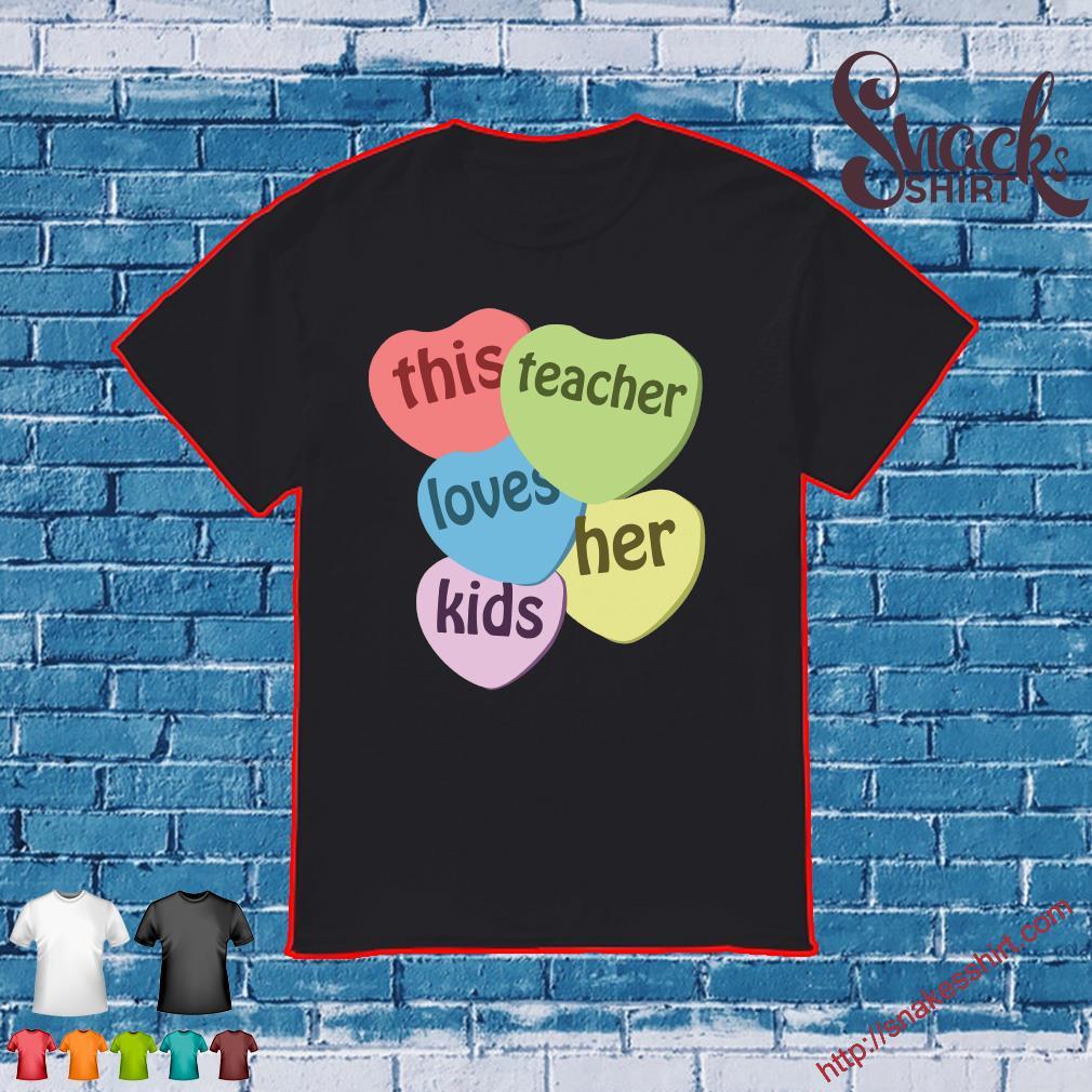 This teacher loves her kids shirt